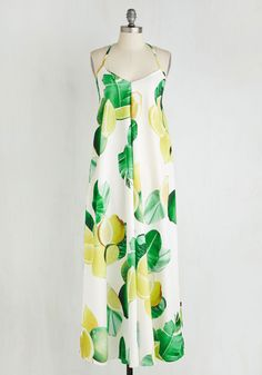 Got the Tang of It Dress. Master the art of sweet summer style in this white maxi dress! #multi #modcloth