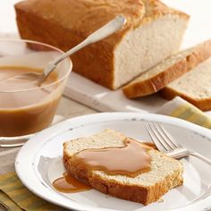 A moist pound cake with the holiday flavors of eggnog. Finish with a rich, buttery rum sauce.