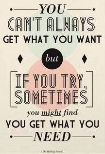 Rolling Stones lyric quote via Carol's Country Sunshine on Facebook
