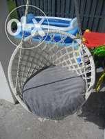 Huśtawka fotel wiszący,gniazdo bocianie.