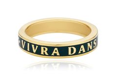 """$1,000 to $1,400This band reads, """"Vivra dans mon coeur,"""" which in English means, """"Live in my heart."""""""