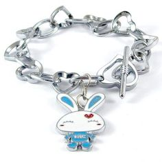 Enamel Cartoon Charms Bracelet,8.0 ,Pewter,gold plated ,0002 : OK Charms, China Wholesale Jewelry Accessories Marketplace