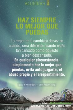 Los Cuatro Acuerdos – Don Miguel Ruiz Words Quotes, Wise Words, Me Quotes, The Ugly Truth, More Than Words, Yoga, Spanish Quotes, Powerful Words, Positive Quotes