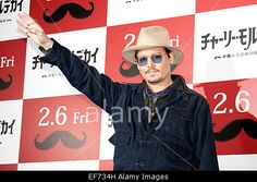 Tokyo, Japan. 28th January, 2015. Actor #JohnnyDepp promotes new film #Mortdecai in #Tokyo. © AFLO/Alamy Live News