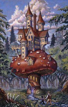 The Mushroom Inn ~ by Randal Sprangler