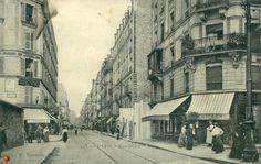 Vue de la rue Didot vers 1900 (Paris 14e)