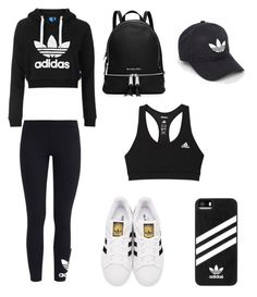 """""""All Adidas-ed Out"""" by camyelle on Polyvore featuring Topshop, adidas Originals, adidas and MICHAEL Michael Kors"""