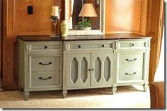 painted furniture - how to stain furniture