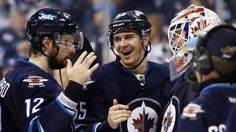 The Winnipeg Jets are set to take to the ice for their first playoff series since relocation. They will be entering the playoffs as the Western Conferences second Wild Card team - which essentially. Jets Hockey, Sports Today, Tv Schedule, Western Conference, Anaheim Ducks, Vancouver Canucks, Nfl Fans, Hockey Players, Nhl