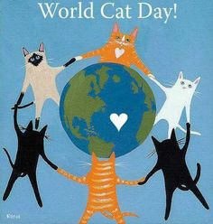 kittehkats:  Consider adopting a cat for World Cat Day!
