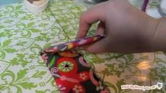 Sew an iPod Touch / iPhone Case Stand, via YouTube.