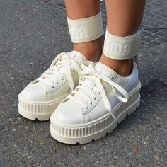 6c692df3d18d PUMA Women s Fenty x Ankle Strap Sneakers  Fenty X  Puma by  Rihanna   Fashion  Footwear  Sneakers  Apparel  Style  Shoes  FentyXPuma  Collection