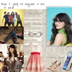 Who's that girl? Who's that girl? ...It's Jess! #newgirl #jess #zooeydeschanel