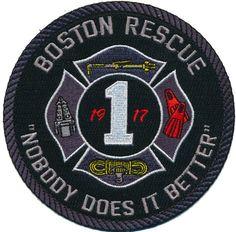 Boston Fire Dept. Recue 1