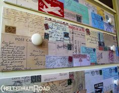 Post Card Dresser