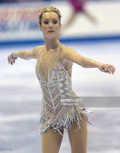 Jennifer Kirk competes Thursday, January 7, 2004 in Short Program at the 2004 State Farm U. S. Figure Skating Championships at Philips Arena, Atlanta, Georgia.