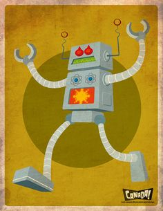 30 Amazing Robot Illustrations