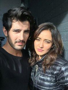 Aditya with Neha. Luv this onscreen cute couple!