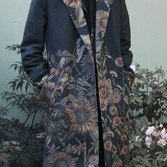 The Dr Gachet coat is now available on the website www.t-e-f.co.uk