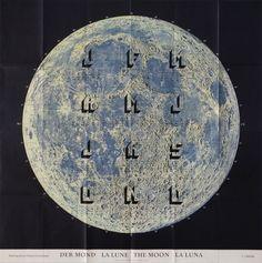 Mond #Wandkalender2018 #moon #mond #lune #luna #calendar #kalender #mondkalender #siebdruck
