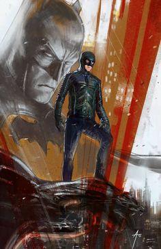 """Proto Batman """"Gotham"""" by Rudy Ao"""