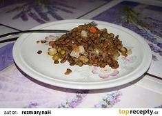 Čočkový salát s Moravankou recept - TopRecepty.cz Cereal, Oatmeal, Breakfast, Food, The Oatmeal, Morning Coffee, Rolled Oats, Essen, Meals