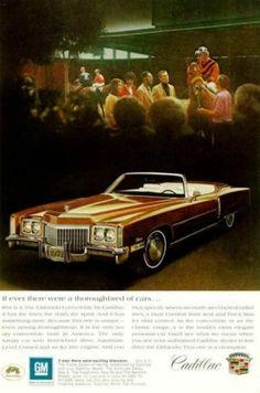 =-=1972 Cadillac Eldorado Convertible ad