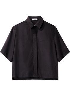 Nomia | Cropped Short Sleeve Shirt | La Garçonne