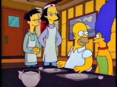 Poison Blowfish Sushi - The Simpsons
