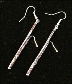 Bassoon earrings (I'd only wear them for concerts though)