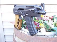 AK Pistol. This would be a scary concealed carry weapon! Video on page two of the thread.