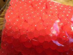 Plastic SHRIMP PINK SALMON STEELHEAD TROUT EGGS 50 CT PACK 8MM #EGGS