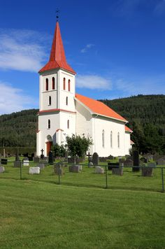 Church, some place in Norway. Photo By. Norway, Mansions, House Styles, Places, Photography, Home Decor, Photograph, Decoration Home, Manor Houses