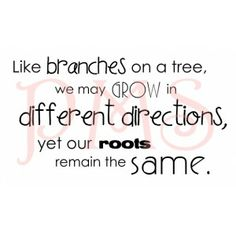 Paper Makeup Stamps- Like Branches on a Tree... wordart Large, bare rubber