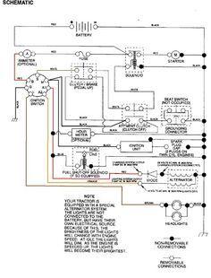 Craftsman Riding Mower Electrical Diagram | Wiring Diagram ... on