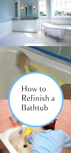 Tips From The Pros On Painting Bathtubs And Tile Painting Bathtub Diy Netw