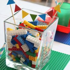 Love all the ideas of making a Lego party successful