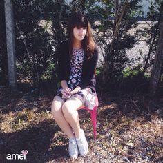 Margaridas do nosso jardim #lojaamei #vestido #Margarida #cute #amoohkei