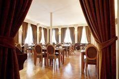 La salle de petit-déjeuner du New Hotel Vieux Port