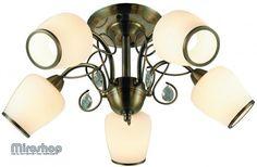 Altalusse INL-6108C-05 Antique brass & Walnut (8599879600982)