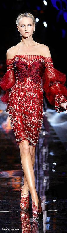 Divine dresses for Lady Luxe: Zuhair Murad Fall/Winter 2015 Haute Couture