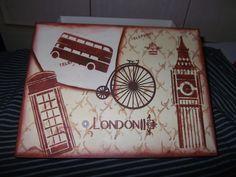 Caixa London | Mania de Artesão | Elo7