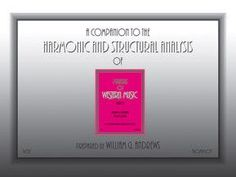 Companion to the Harmonic and Structural Analysis of the Materials of Western Music (Comb Bound Book)