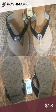 NY&C flip flops Brand new with tags New York & Company-size 10 New York & Company Shoes Sandals