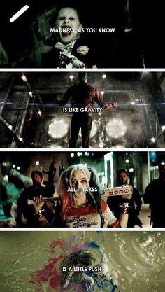 Harley Quinn & The Joker, Suicide Squad O Joker, Harley Quinn Et Le Joker, Joker Quotes, Movie Quotes, Acting Quotes, Suiside Squad, Arley Queen, Hearly Quinn, Fangirl
