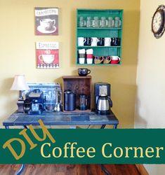 DIY Coffee Corner.