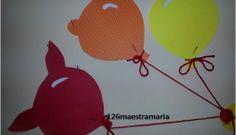 Preparativi per Carnevale: Leon il leoncino con palloncini
