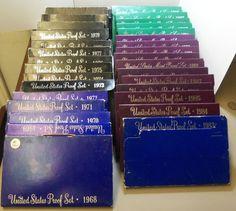 United States Mint Proof Sets Run of 1968-1998 31