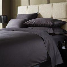 Merveilleux Hotel Living 1000 Thread Count Double Flat Sheet, Platinum