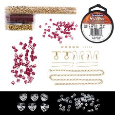 Bollywood Bride Collection Inc Miyuki Transparent Ruby Seed Beads & Miyuki Silver Lined Gold AB Seed Beads Hannah 2.2.17  6.40 pm